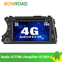 Bonroad 2 Din Car Multimedia Player For SsangYong Actyon Kyron Video GPS Wifi Radio 4G MP3 Touch Screen
