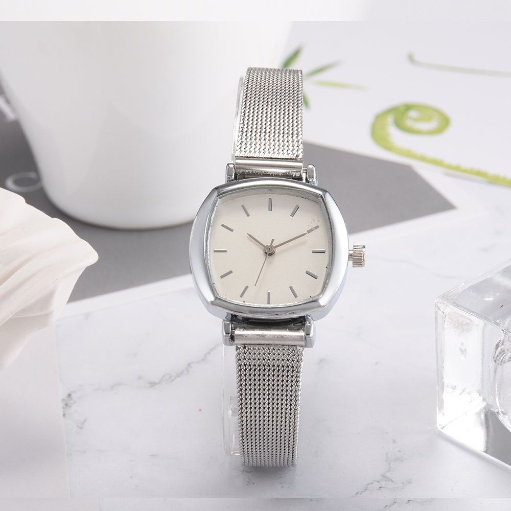 Mode Dameshorloge 2018 Simple Small Square Quartz Vintage Style - Dameshorloges