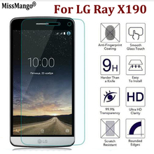 9H 2.5D Premium Tempered Glass For LG Ray X190 Mobile Phone