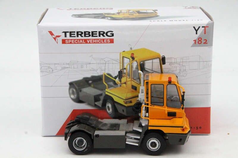 Terberg 1:50 специальных транспортных средств YT182 трейлер голову модели литой Ограниченная серия игрушки автомобиля Металл Автоматический Сбор
