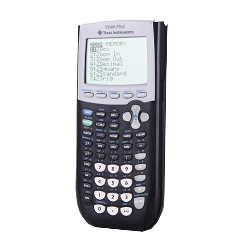 US $142 91 11% OFF|2018 New Texas Instruments Ti 84 Plus Graphing  Calculator Top Fashion Plastic Battery Calculatrice Led Calculator-in  Calculators