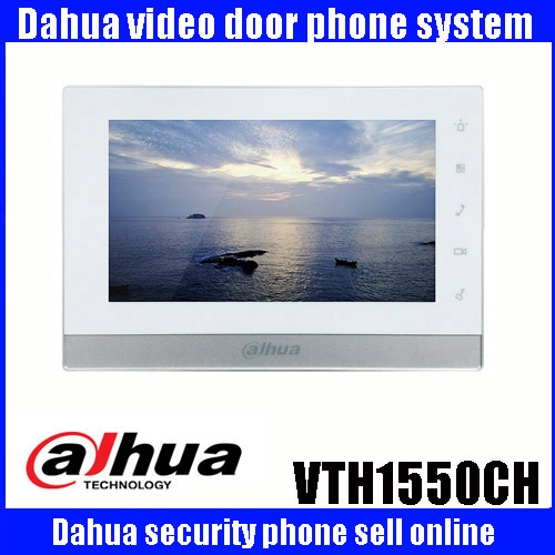Originale 7 Pollice Touch Screen Dahua VTH1550CH Monitor a Colori Video Telefono Dell'interno Videocitofono Dahua videocitofono