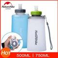 Naturehike уникальная Складная Спортивная бутылка для воды  герметичная  Нетоксичная  без БФА  экологичный резервуар для воды 500 мл 750 мл