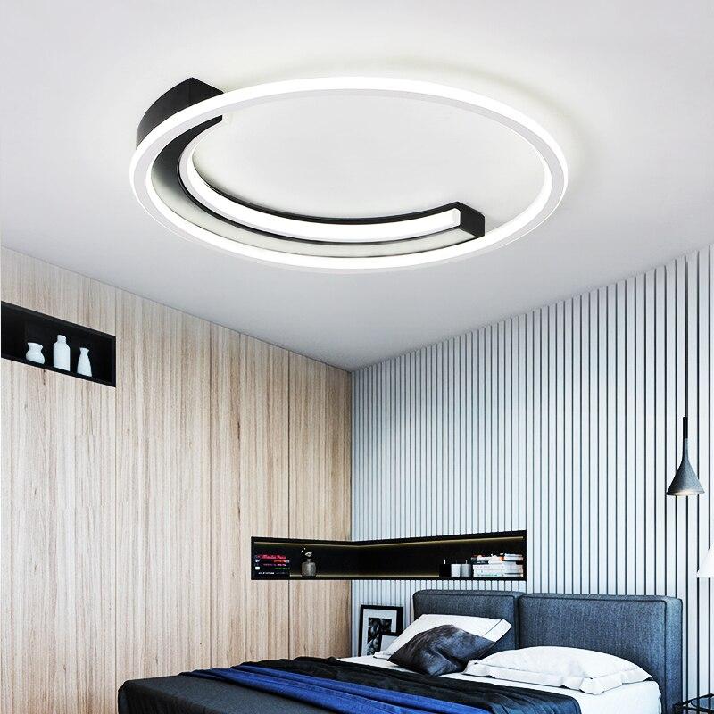 Chandelierrec Aluminum Modern Led ceiling lights for living room bedroom AC85-265V Dimmable Ceiling Lamp For Low CeilingsChandelierrec Aluminum Modern Led ceiling lights for living room bedroom AC85-265V Dimmable Ceiling Lamp For Low Ceilings