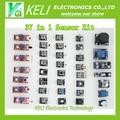 Shippiing libre 37 en 1 Kit Sensor Para Arduino Entrantes keyes marca en la acción de buena calidad precio bajo 37 EN 1 SENSOR KITS