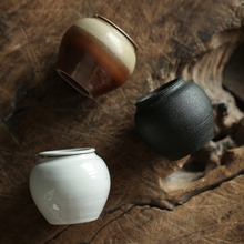 TANGPIN japan small size ceramic tea caddies porcelain canisters Kung fu accessories for