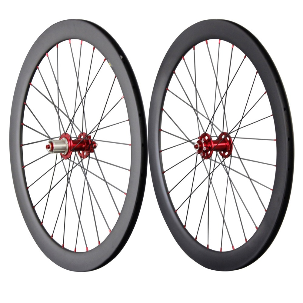 700c disc wheelset carbon road bicycle wheels 50mm clincher cyclocross disc wheel 3k glossy front 20 rear 28 spoke holes 50C 50mm carbon disc brake bicycle wheel set 700c 25mm carbon 38mm clincher wheelset for secure riding made in amoy trading company