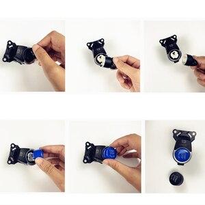 Image 2 - אביזרי מפתח רכב מנוע START Stop לחצן להחליף כיסוי מתג דקור עבור BMW F20 F10 F01 F26 F15 F16 רכב מנוע כפתור כיסוי