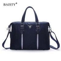 BAISTY Brand 2018 New Men's Fashion Shoulder Bag Waterproof Oxford Man Zipper Messenger Bag Black Blue Solid colour Casual Bag