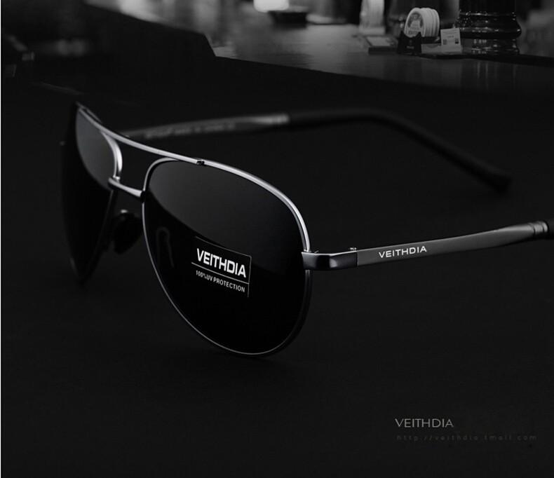 VEITHDIA Men's Polarized Sunglasses 15