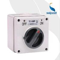 Saipwell IP66 Waterproof Switch Rotary Switch Waterproof and Dustproof Switch (SP 56SW310)