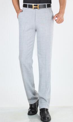 Recto Largos Casuales Versión 44 2 Pantalones Ropa Elástico Ramio Largo Hombres Los Verano De D Nueva 1 TqvpAv4