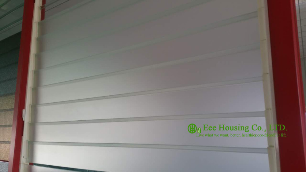 Obscure Glass Louver Window Blades