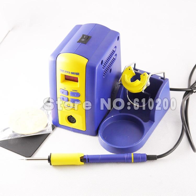 Free shipping  FX-951 fx951 Digital Soldering Station/Solder Soldering Iron 75W Replace 936 +T12-I 110V or 220V