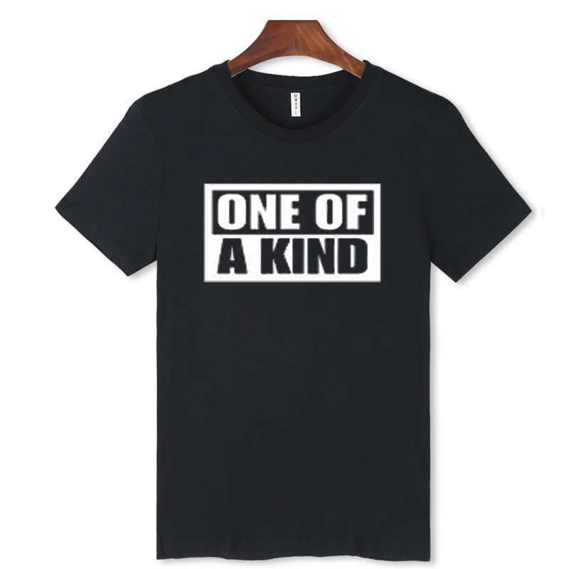 Kpop BIGBANG G-Dragon One Of A King Concert Short Sleeve T-Shirt Men's Cotton T Shirt Black & White Hip Hop Tops Tees Hot Sale