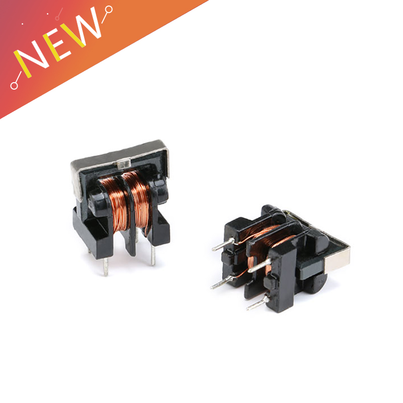 5Pcs/lot UU9.8 UF9.8 Common Mode Choke Inductor 10mH 20mH 30mH 40mH 50mH For Filter Pitch 7*8mm