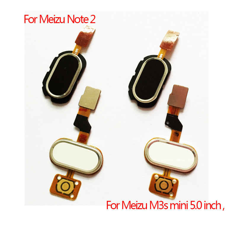 New Home Button Fingerprint Touch ID Sensor Return Key Flex Cable Ribbon For Meizu M2 Note M3S M5 M5S