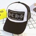 Niños al por mayor de moda unisex classic trucker baseball golf mesh cap snapback sombrero de la vendimia muchachas de los muchachos gorras de hip-hop gorra de béisbol