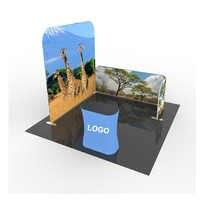 Cloisons de séparation de stand d'exposition standard 3*3m de vente directe d'usine avec l'impression faite sur commande