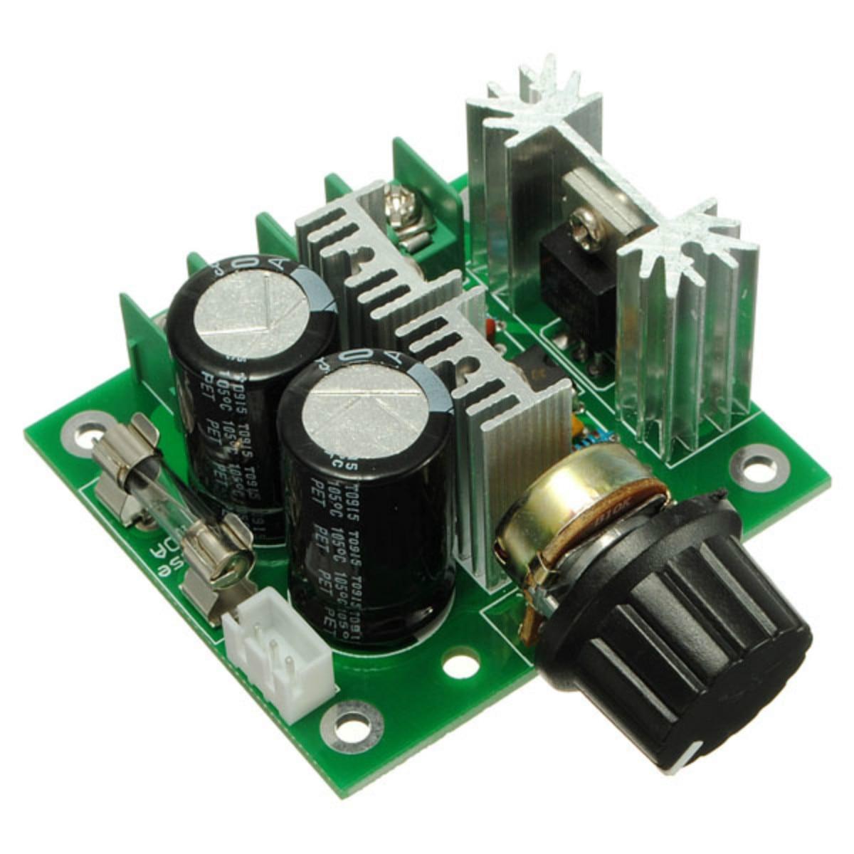 DC12V-40V 10A Motor Controller Modulation PWM DC Motor Speed Control Schalter Gouverneur