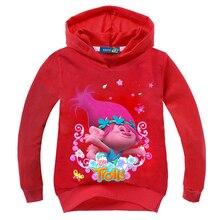 Фотография Y01-X616 new year spring autumn children girls boys clothes cartoon printed cotton hoodie tops happy princess 1pcs