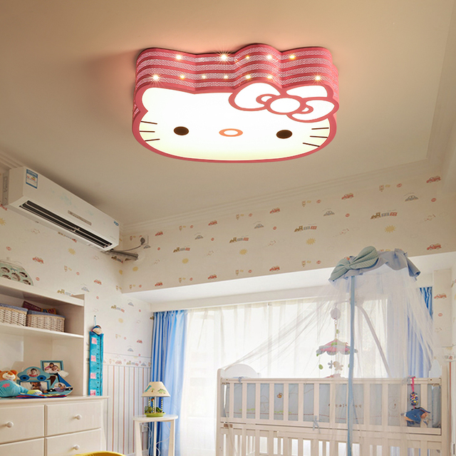 led cartoon ceiling lights lovely children\u0027s bedroom hello kittyled cartoon ceiling lights lovely children\u0027s bedroom hello kitty kindergarten