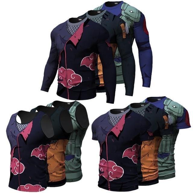 Naruto Men Costumes 3D T Shirt