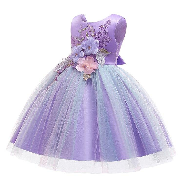 HTB1qyQPVHvpK1RjSZFqq6AXUVXam Girls Dress Christmas Elegant Princess Dress Kids Dresses For Girl Costume Children Wedding Party Dress 10 Year vestido infantil