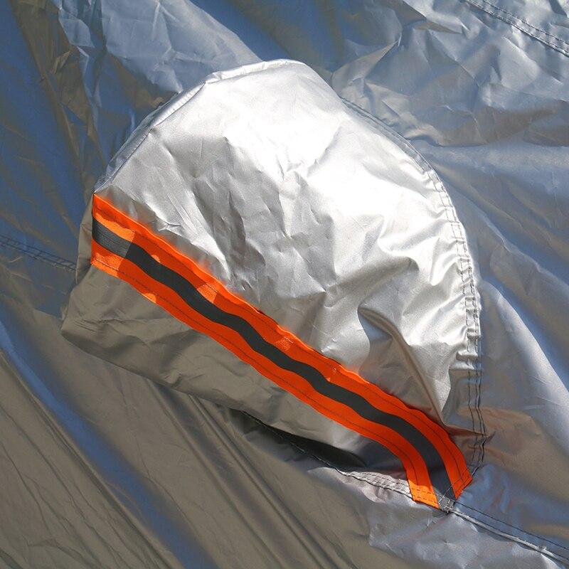 Kayme bâches de voiture imperméables couverture de protection solaire extérieure pour voiture pour ford mondeo focus 2 3 fiesta kuga ecosport explorer ranger - 3