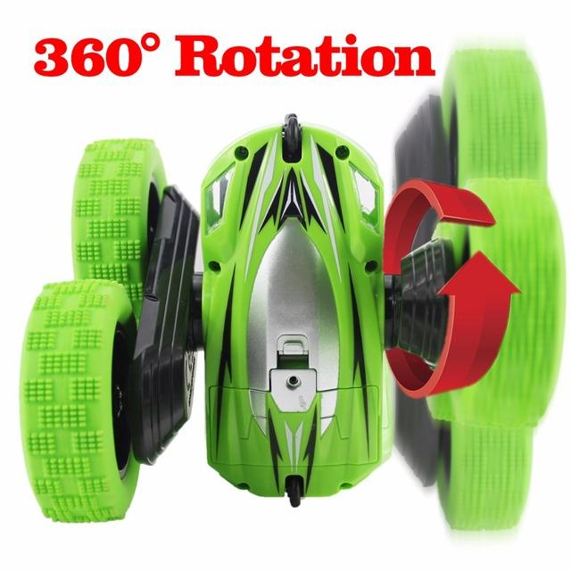 RC Car 2.4G 4CH Stunt Drift Deformation Buggy Rock Crawler Roll Car 360 Degree Flip