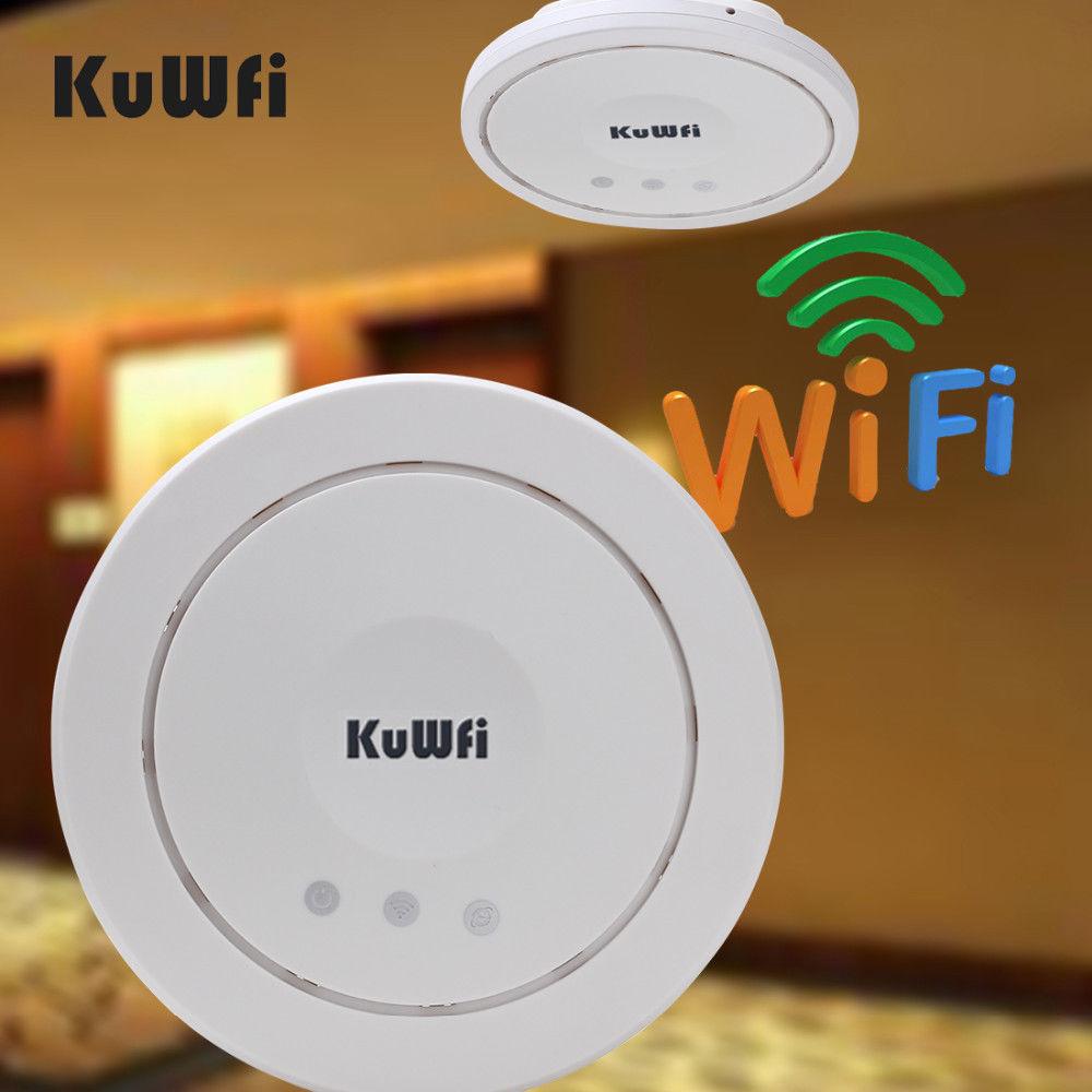 Intérieur 300 Mbps plafond AP routeur sans fil Wifi routeur Wi-fi amplificateur de Signal Wifi Booster Wifi répéteur Wifi gamme d'extension