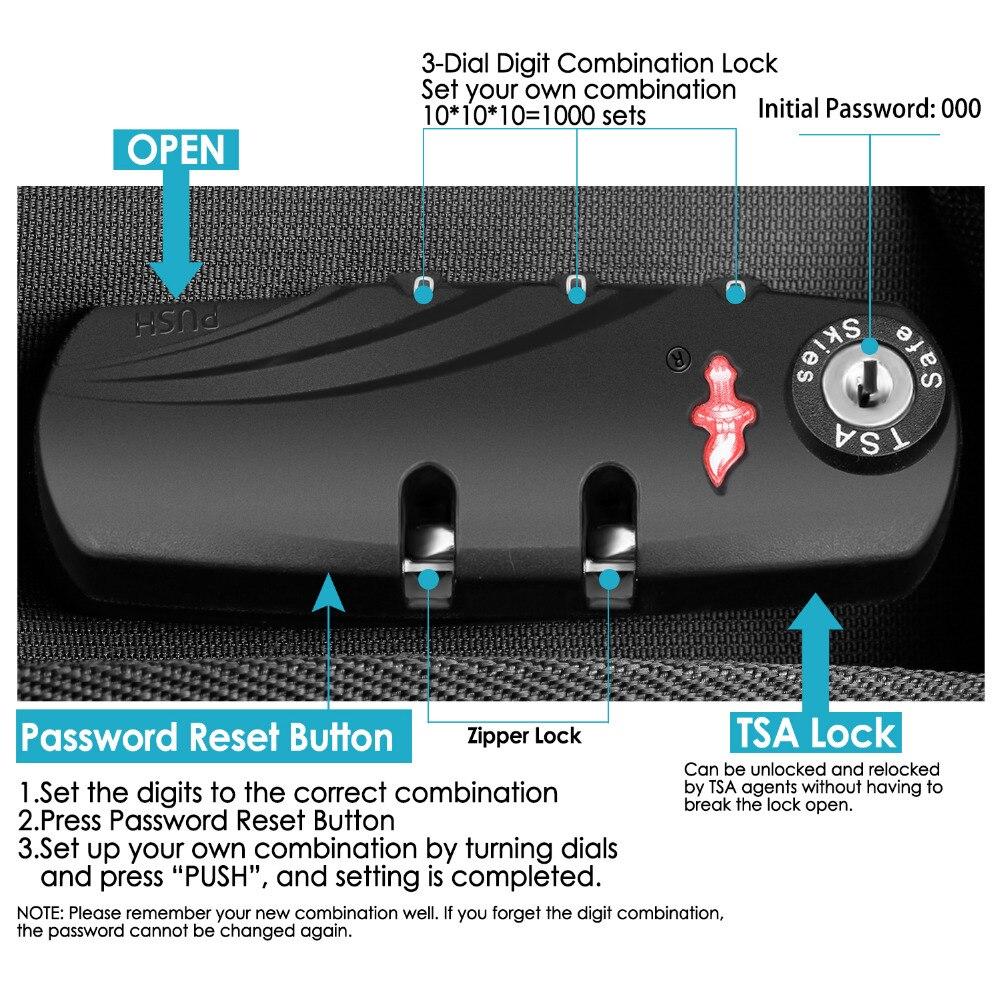 Neewer Pro étui pour appareil photo étanche antichoc réglable rembourré sac à dos pour appareil photo avec serrure à combinaison antivol pour DSLR DJI - 2