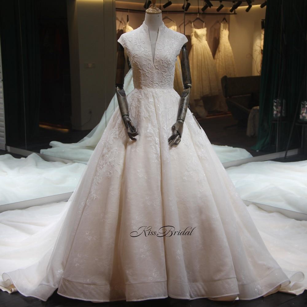 Старинные кружева свадебное платье трапециевидной формы стильные элегантные без рукавов на молнии Назад длинным шлейфом Свадебные платья