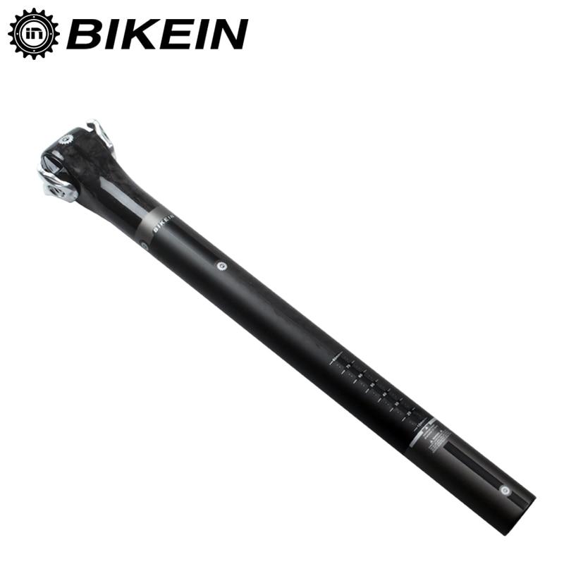 BIKEIN Full UD Scaun pentru bicicletă rutieră carbon 27.2 / 30.8 / - Ciclism