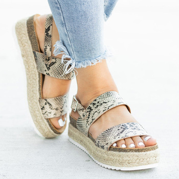 Women Sandals 5Colors Wedges Shoes For Women Summer Sandals With Heels Platform Sandalias Mujer 2019 Summer Casual Shoes Female