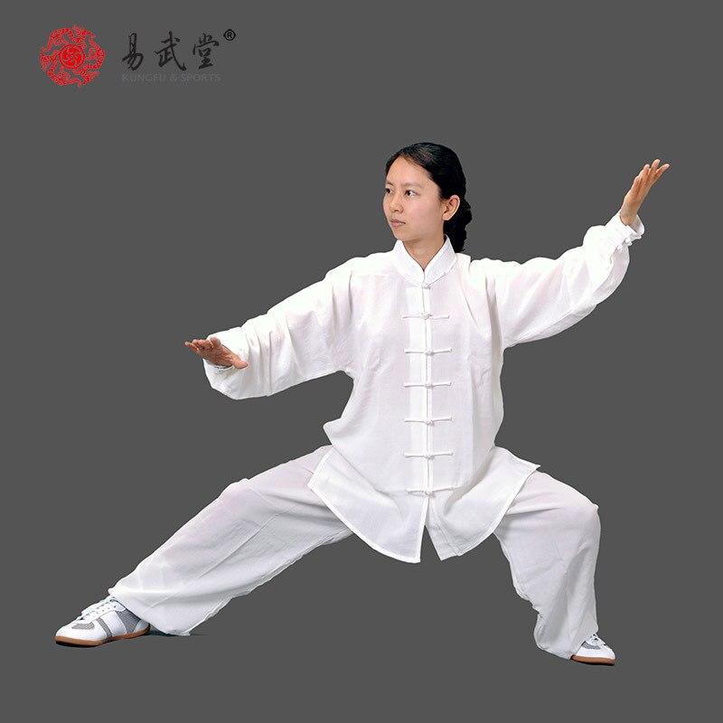 [Yiwutang] Китайский костюм для Единоборства wu, костюм для у-шу и Тай-Чи, или форма для кунг-фу, подходит для весны, лета и осени.