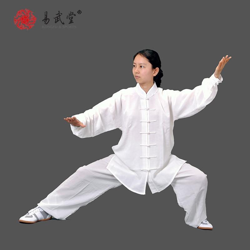 [yiwutang] κινεζικές πολεμικές τέχνες wu shu κοστούμι και tai chi ρούχα ή ομοιόμορφη kung fu κατάλληλη για την άνοιξη, το καλοκαίρι και το φθινόπωρο.