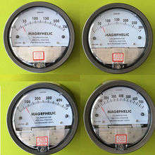 Professional Digital Analog differential pressure gauge +/-1000pa negative pressure meter Manometer gas industry