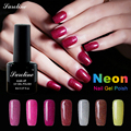 2017 Fashion glitter Neon Nail Gel Polish Soak Off UV Colorful Nail Colors Art For Gel Varnish Long-lasting Nail Art Gel Polish