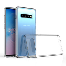for Samsung Galaxy Note 10 Plus Case S10 Note 9 S10e 5G Shock-resistant Transparent Hard Back Slim Cover Clear Protective Shell стоимость