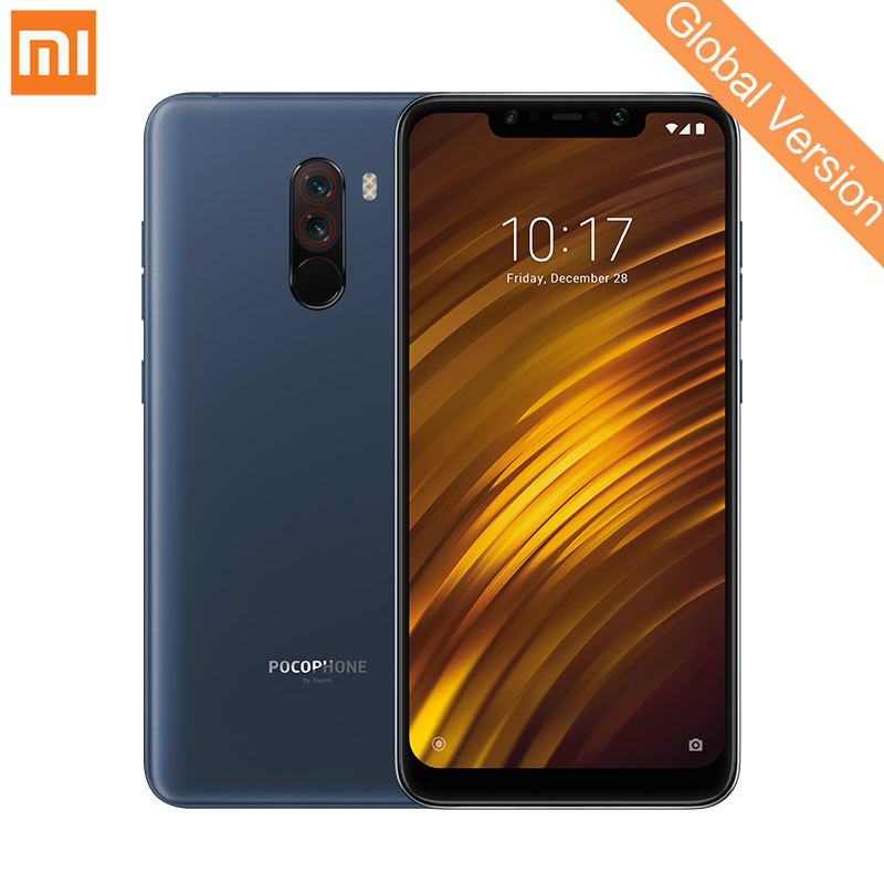 Global Version Xiaomi POCOPHONE F1 6GB 128GB Mobile Phone Snapdragon 845 Octa Core 6.18