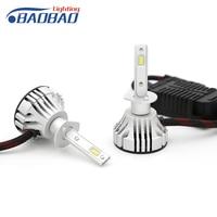 BAOBAO Universal Headlight LED Bulbs 36W 9V 32V H1 H7 H11 9005 9006 H4 6000LM White 6500K Auto Headlamp Led Car Lights