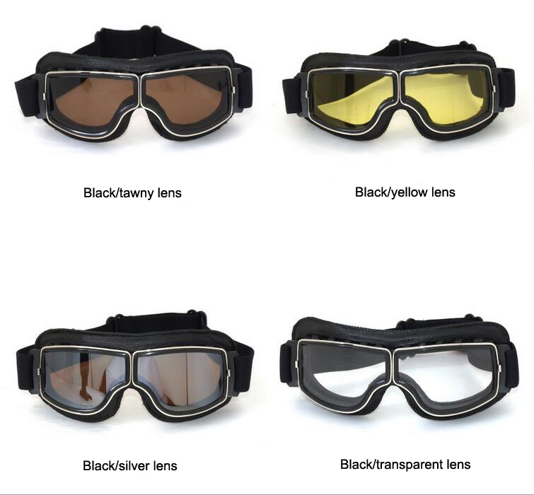 1a90ab3828a World war ii pilot goggles Harley retro vintage Motocross MX Goggles  Cycling Outdoor Glasses for Motorcycle Helmet glasses-in Motorcycle Glasses  from ...