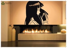 YOYOYU Wall Decal Vinyl Art Sticker Mural Cartoon Girl Beauty Home Poster Removeable Decoration YO587