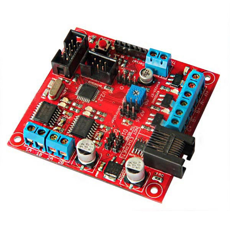Hot 3D Printer Extruder Controller 2.2 Control Module Board Motherboard PWM Driver Board for DC Motor Driver Temperature Sensor new plc programmable logic controller module pwm stepper motor driver relay board sm536 sd