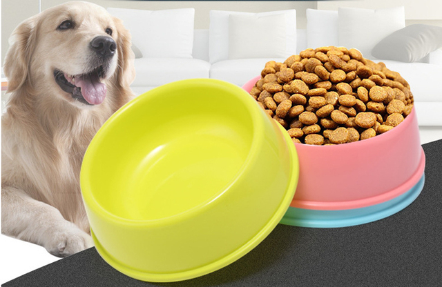 Pet Dog Bowls Puppy Cats Food Drink Water Feeder Pets Supplies Non-slip Feeding Dishes Pet Supplies 5