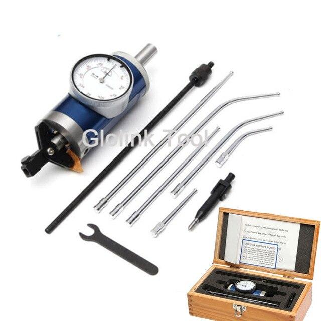 1 комплект коаксиального центровочного набора индикаторов 0-3 мм центроискатель фрезерный инструмент 0,01 мм точность с деревянной коробкой измерительный инструмент