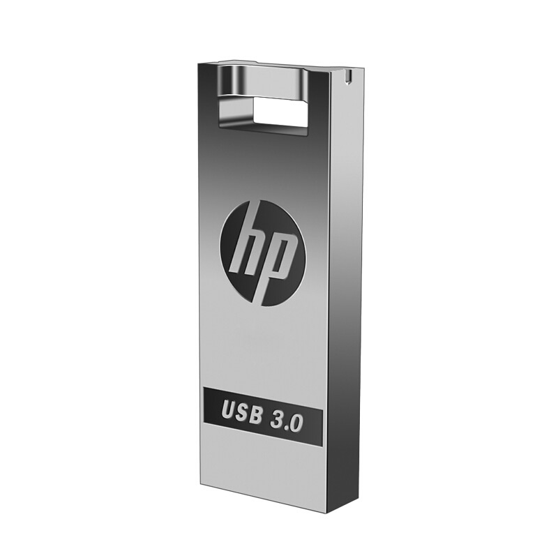 HP Flash Disk 32 gb gb 128 gb Pendrive usb 3.0 gb 16 64 DIY personalizado DJ Music Bonito mini cle usb Vara De Metal USB Flash Drive Dropship