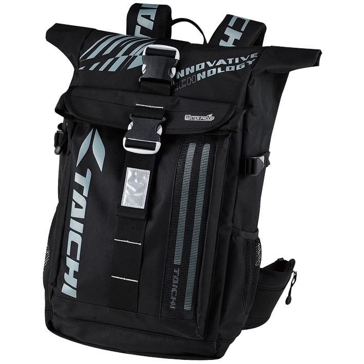 Topdudes.com - Waterproof  LED Light Motorcycle Bag