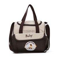 Motohood 38*18*30 см 5 шт. детские пеленки комплекты с сумкой изменение подгузник сумка для мамы многофункциональные коляски вместительная сумка-органайзер